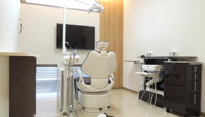 かみふご歯科クリニックの診察台
